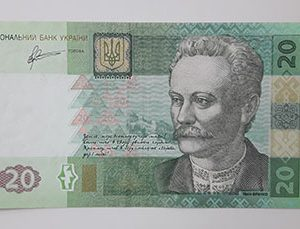 Foreign currency of Ukraine in 2011-wgg
