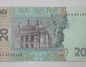 Foreign currency of Ukraine in 2011-gwg