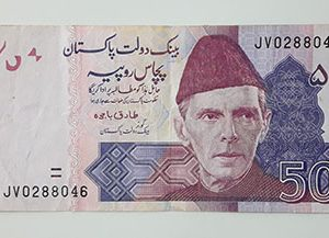 Old Pakistani banknotes quality (non-bank)-wsx