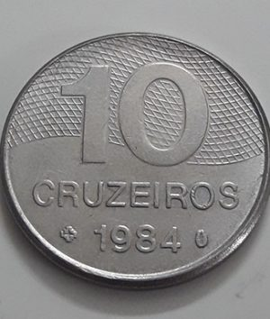 Foreign coin of the rare design of Brazil in 1984-jej