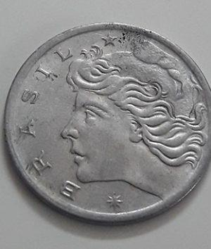 Foreign coin of the rare design of Brazil in 1969-ekk