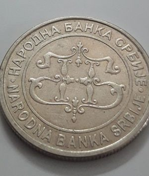 Rare foreign coin of Serbia, large size, 2003-xrx