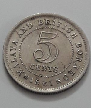 Foreign currency of the country of the immigrants of the Strait of Malaya in 1961-ara