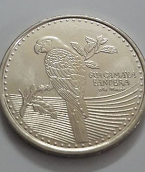 Colombia beautiful foreign coin parrot design 2017-ruu