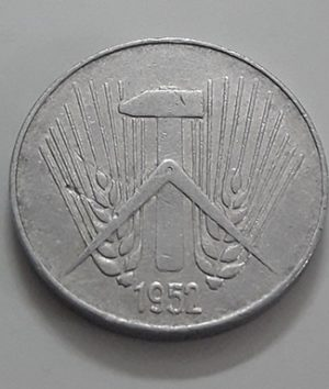 Rare foreign coin 10 Fenge Germany 1952-taa