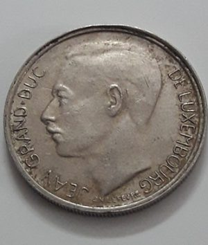 Rare foreign currency of Luxembourg 1972-tss