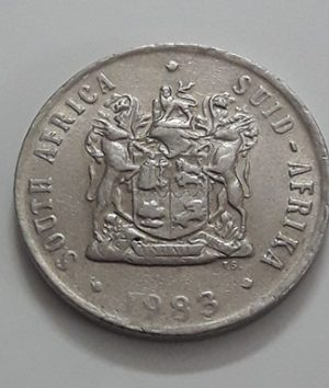 South African coin of 1983-hth