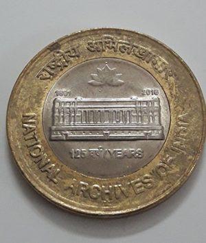 Foreign bimetallic commemorative coin of India-tjj