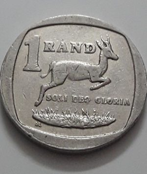 Foreign currency 1 round of the country of South Africa in 1997-yvv