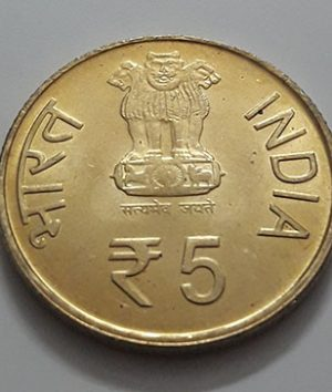 Foreign commemorative coin of India Banking quality of 2011-dyd