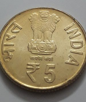 Foreign commemorative collectible coins of India Banking quality-hyh