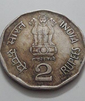 Foreign commemorative coin of the rare brigade of India in 1996-vuv