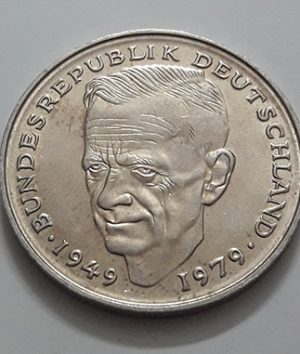 Collectible foreign coins of 2 commemorative brands of Germany with banking quality and eye-catching 1979-uss