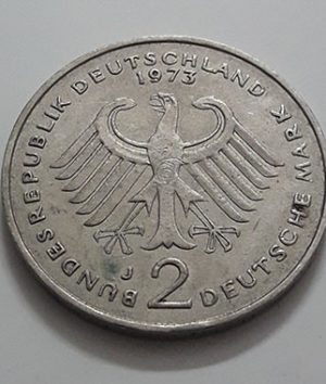 Collectible foreign coins, 2 commemorative brands, beautiful and rare, Germany, 1969-gug