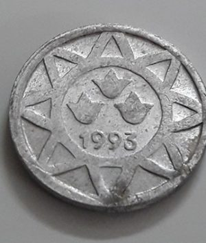 Very rare and beautiful foreign coin of Azerbaijan in 1993-qee