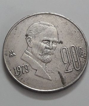 Foreign currency of Mexico 1979-uyy