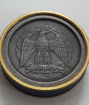 Beautiful Foreign Medal and Waterloo War Memorial Multiplication Franklin Mint Portrait of British and French Generals (m)-hoh