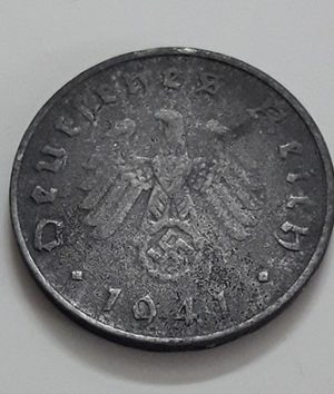 Foreign cross coin of Germany in 1941-oee