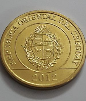 Foreign coin of beautiful design of Uruguay (banking quality) 2012-cxz