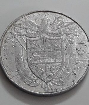 Rare foreign currency coin of Panama-jnh