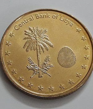 Foreign currency 1/4 Libyan dinar (bank quality)-vbn