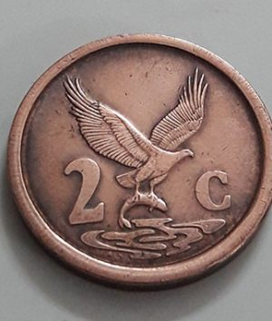 Foreign coin of beautiful and rare design of South Africa in 1991-ilp