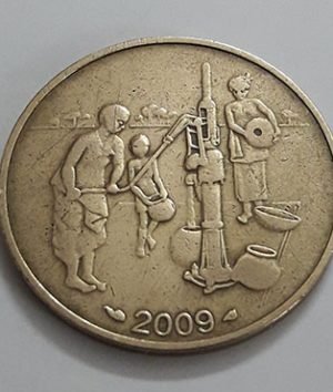 Foreign coin commemorating the beautiful and rare design of West Africa in 2009-aww