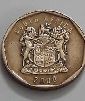 Foreign currency of South Africa in 2000-ata