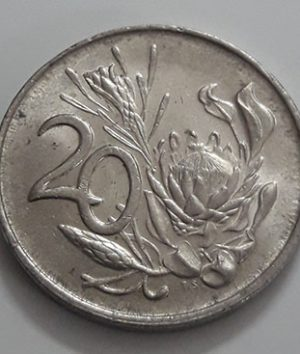 A very beautiful and rare foreign coin of the country of South Africa in 1984-azz