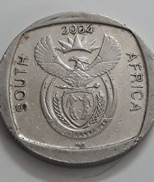 foreign-currency-commemorative-2-rounds-of-south-africa-a-very-beautiful-and-rare-design-of-2004-sws