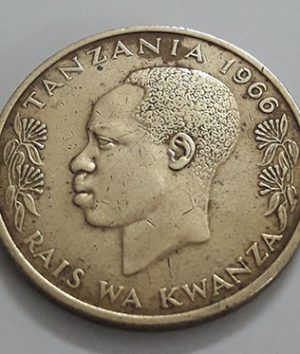 A beautiful and rare foreign design of Tanzania in 1966-sys