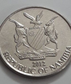 A very rare foreign coin of Namibia in 2012-sjs