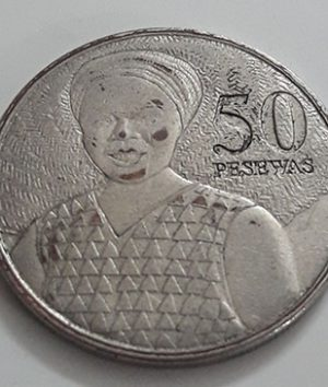 Foreign coin commemorating the rare brigade of Ghana in 2007-sxx