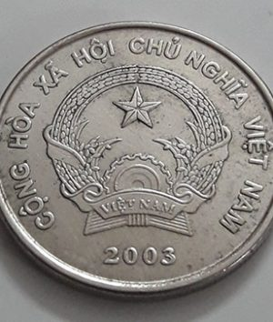 Foreign coin of the rare design of Vietnam, 500 units, 2003-dvv