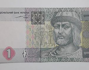 Foreign banknote of the beautiful design of Ukraine in 2004 (m)-dhh