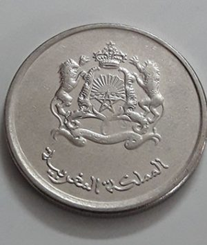 Foreign coin commemorating the beautiful design of the Maghreb country, unit 1/2 of 2014-ziz