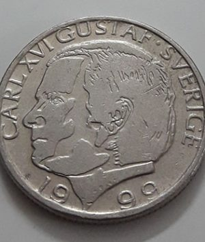 Swedish foreign coin 1999-bmm