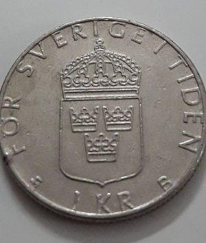 Swedish foreign coin 1999-mbm