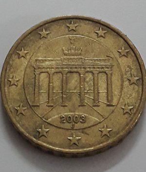 EU 10 cent coin 2003-cii