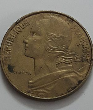 Foreign currency of France in 1974-coo