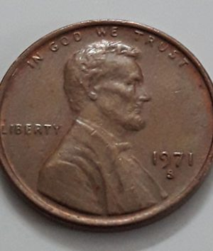 1 Lincoln Foreign Coin, USA-tyc