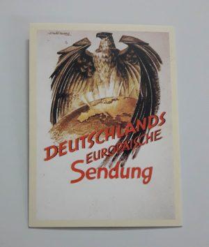 Nazi Germany Commemorative Postcard sss