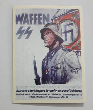 Nazi Germany Commemorative Postcard gg
