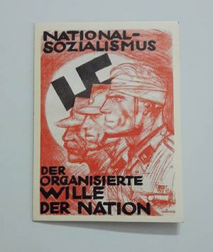 Nazi Germany Commemorative Postcard nh