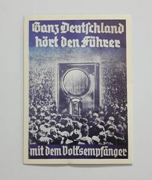 Nazi Germany Commemorative Postcard hnmmm