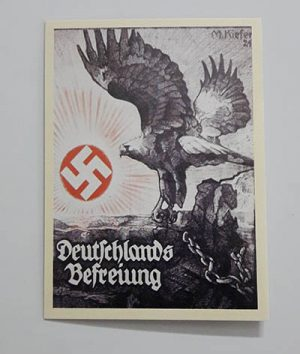 Nazi Germany Commemorative Postcardhn1q