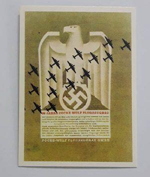 Nazi Germany Commemorative Postcard jhf