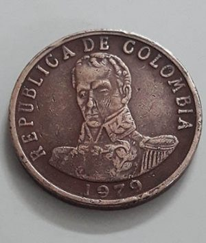 Rare Colombian foreign collector coins qfb 98