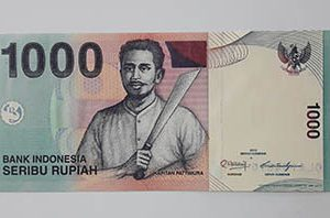 Indonesia foreign banknotes qwbv