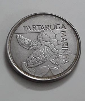 Brazilian foreign collector coin turtle design ty6